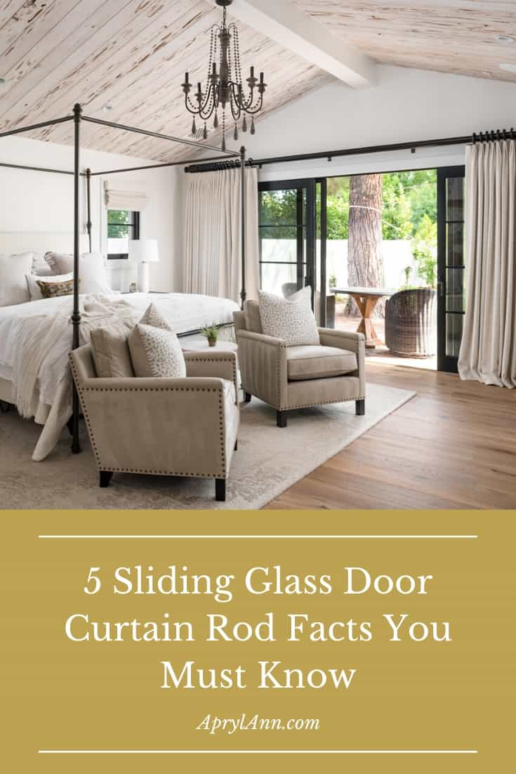 5 Sliding Glass Door Curtain Rod Facts You Must Know Aprylann