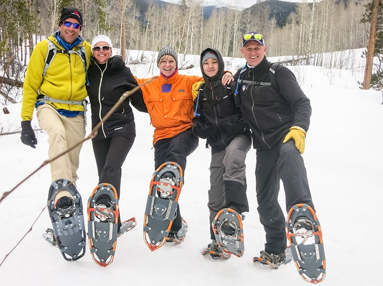 A group of Snowshoes