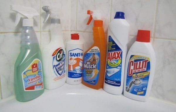 жидкость чистящая для ванны