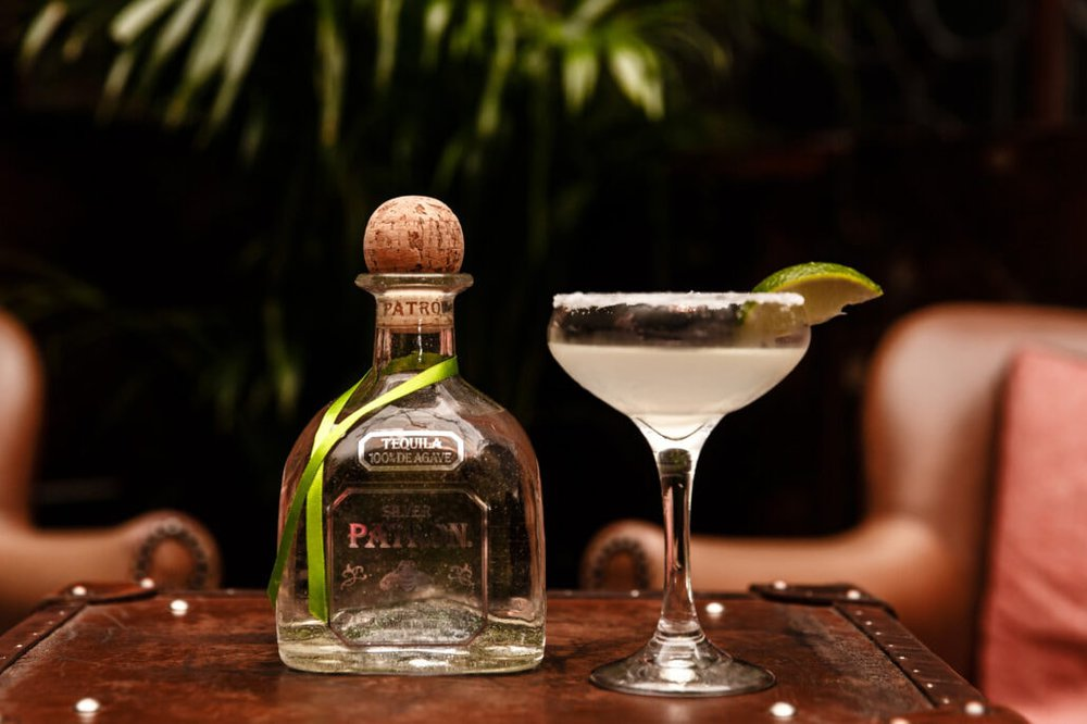 Photo of Patron Tequila during a PR campaign in manchester