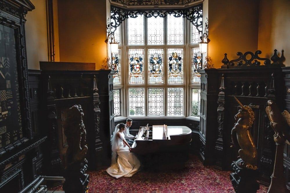 Grand Piano at Crewe Hall