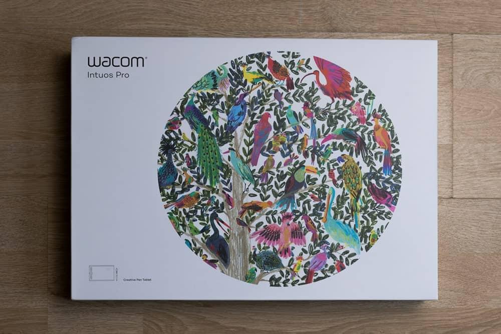 Wacom Packaging Box