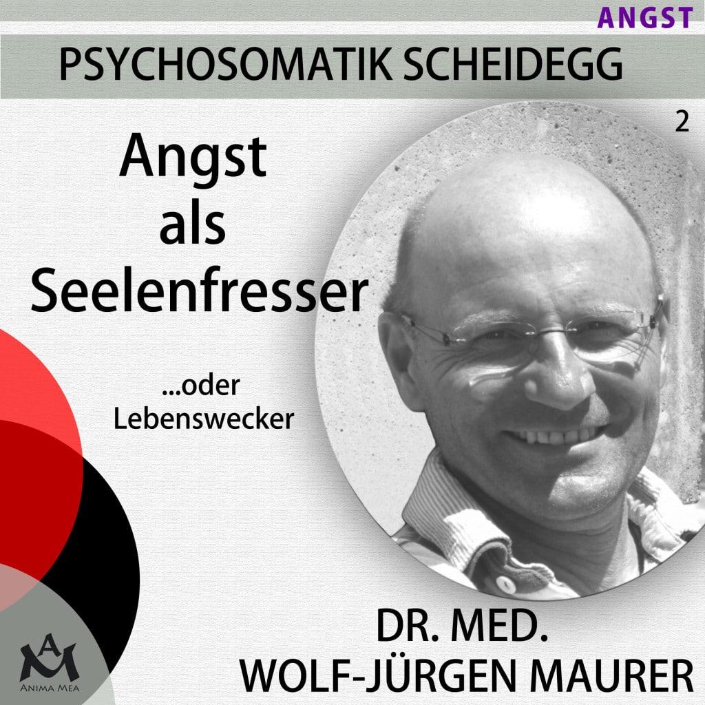 "Cover PSYCHOSOMATIK SCHEIDEGG Folge 2 ""ANGST"" Angst als Seelenfresser ....oder Lebenswecker"