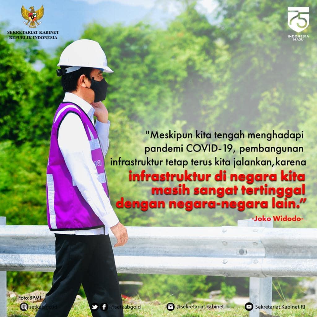 Arahan Presiden Joko Widodo saat Meresmikan Jalan Tol Ruas Sigli-Banda Aceh Seksi 4