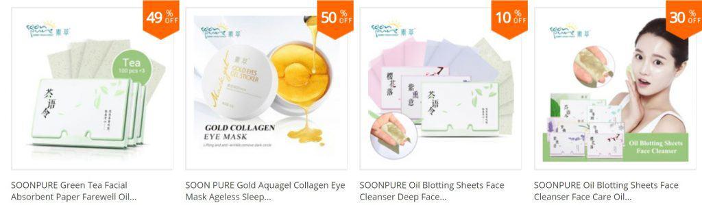 AliExpress Beauty Product Skincare Trusted Cheap Wholesale Price Safe Serum Handcream China Cosmetics SoonPure1