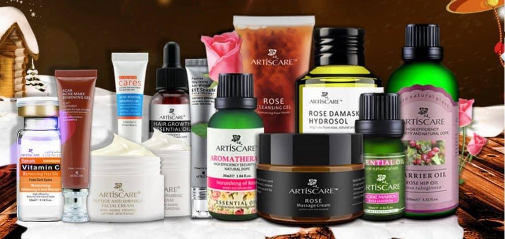 AliExpress Beauty Product Skincare Trusted Cheap Wholesale Price Safe Serum Handcream China Cosmetics Artiscare1