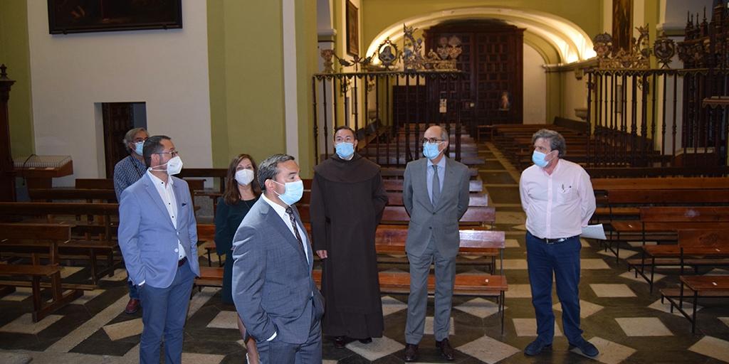 La Junta y Diputación arreglarán antes de otoño la techumbre de las Carmelitas