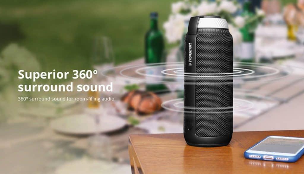 Top Quality Bluetooth Speaker Bose replica Portable speaker Bose alternative 2020 AliExpress Tronsmart Element T6 Surround sound