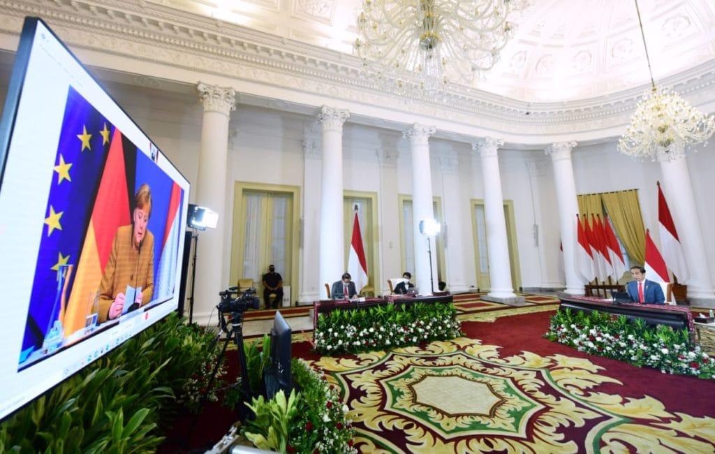 Bilateral Jokowi - Merkel