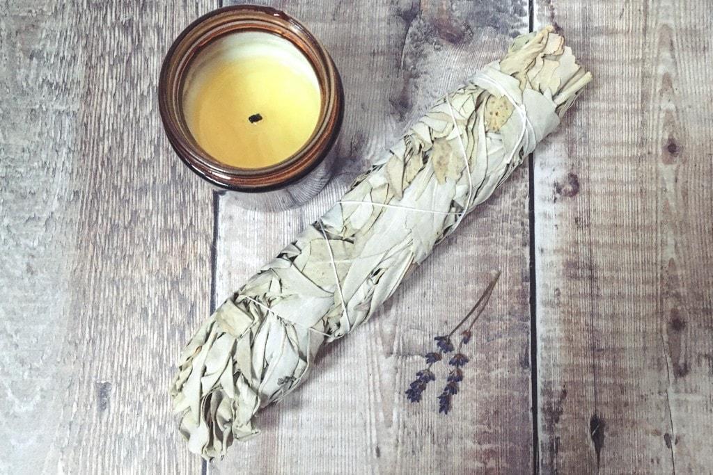Spiral Crystals UK - White Sage Smudge Stick Large