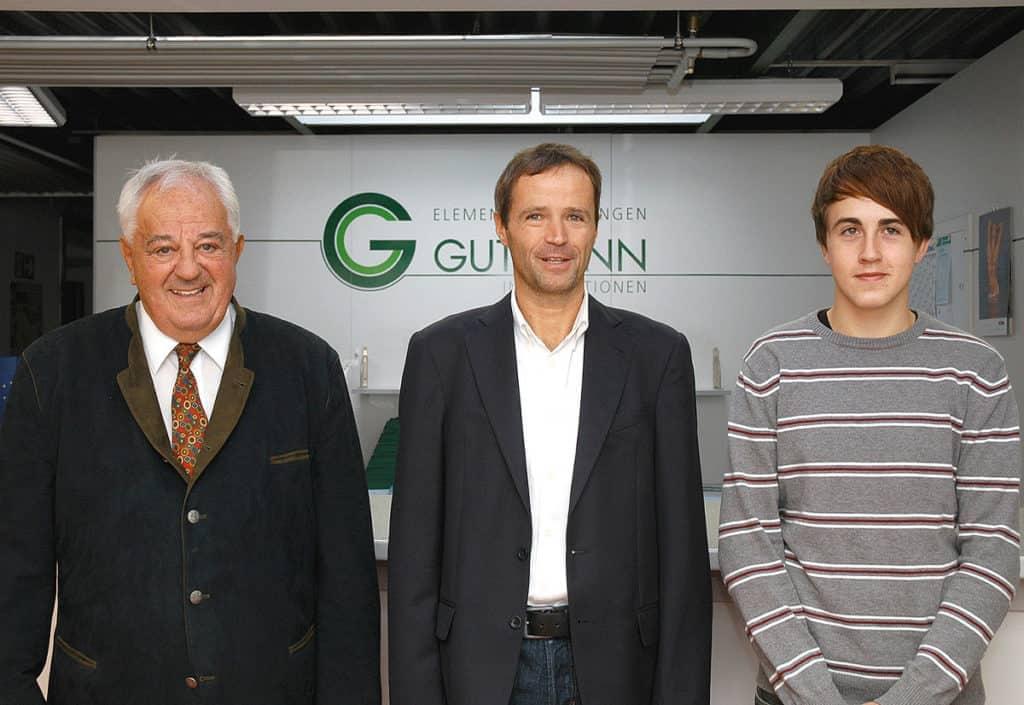 drei Generationen Gutmann