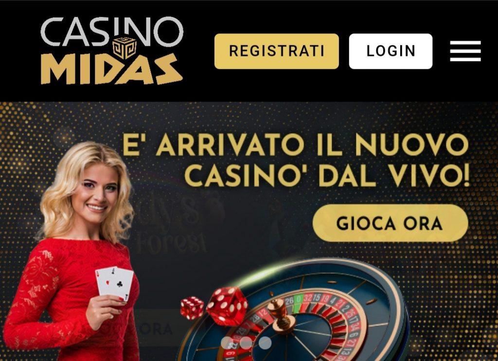 Live Midas Casino