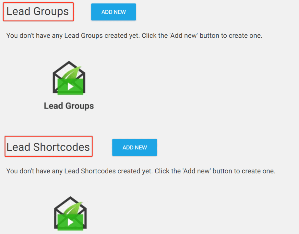 Lead Groups And Lead Shortcode
