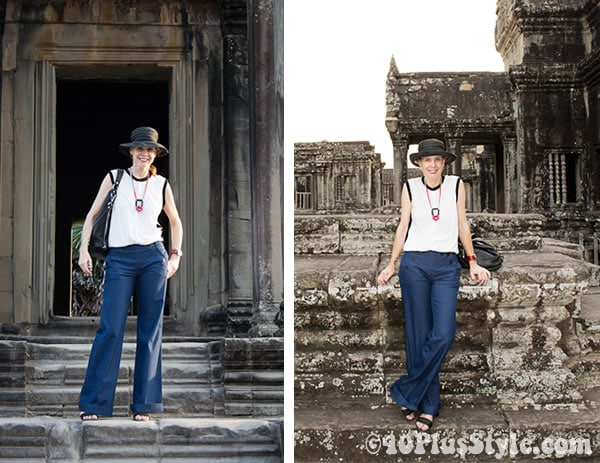 Invasion of the sailor pants in Siem Reap, Cambodia