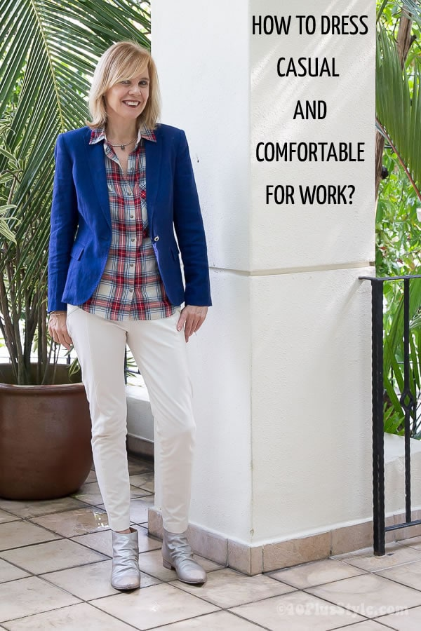 How to dress casual and comfortable for work