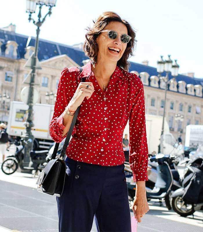 How to get a Parisian chic style like Ines de La Fressagne