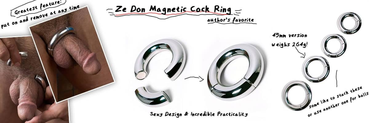 safe metal dick and ball ring