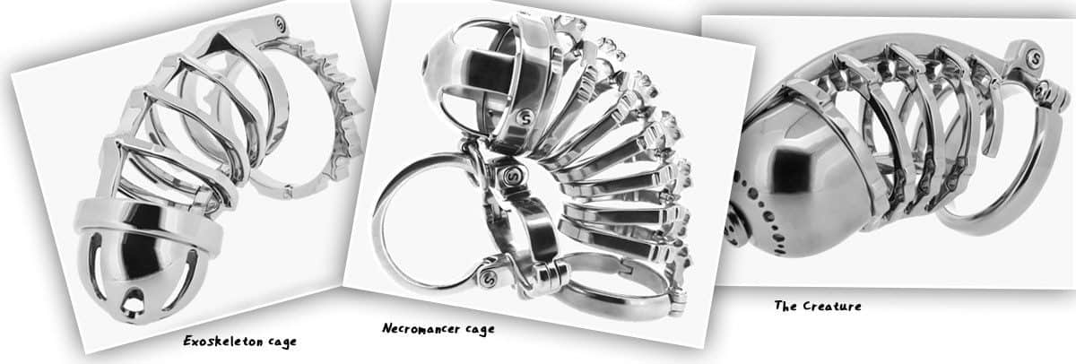 custom chastity device examples