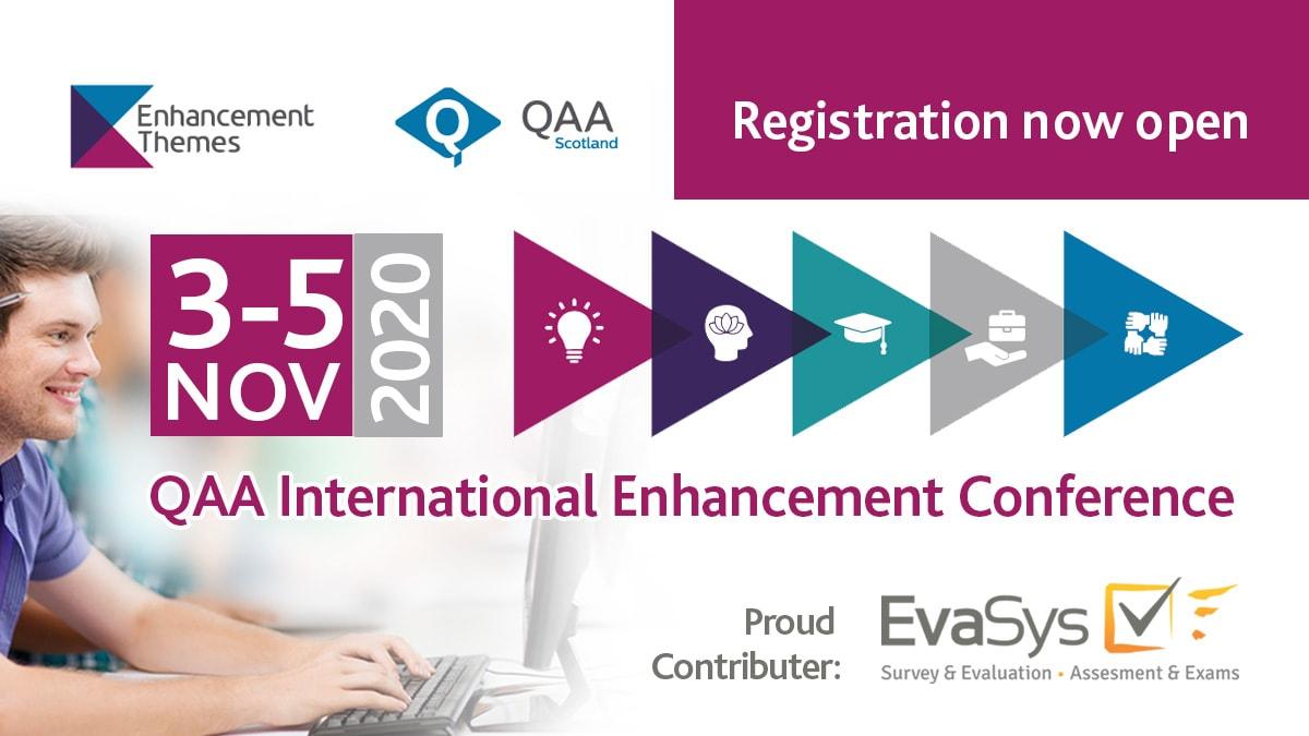 EvaSys supports QAA International Enhancement Conference