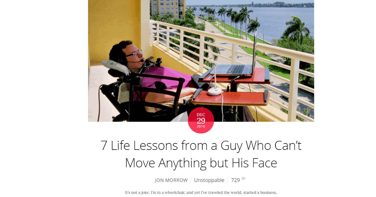 Blogging - Jon Morrow