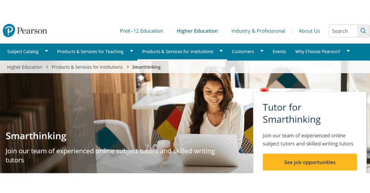 Pearson - Lavoro di tutoraggio online