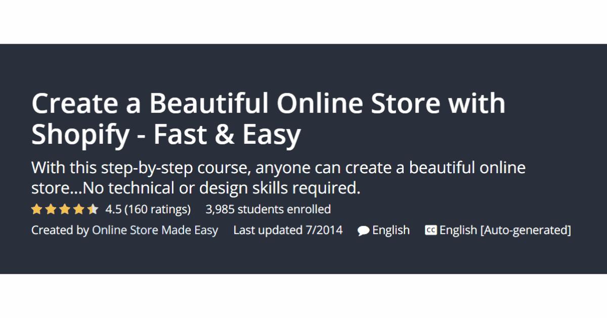 Shopify - Negozio online