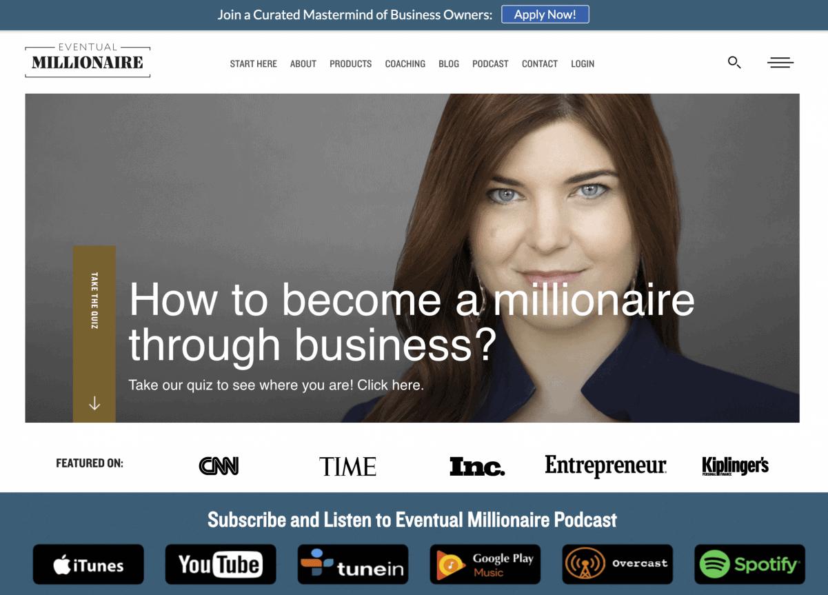 Podcast del milionario finale di Jamie Masters
