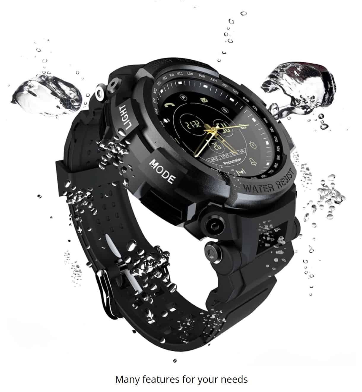 smartwatch replica Lokmat Casio Lookalike Gshock Water Resistant Apple Watch Clone Cheap
