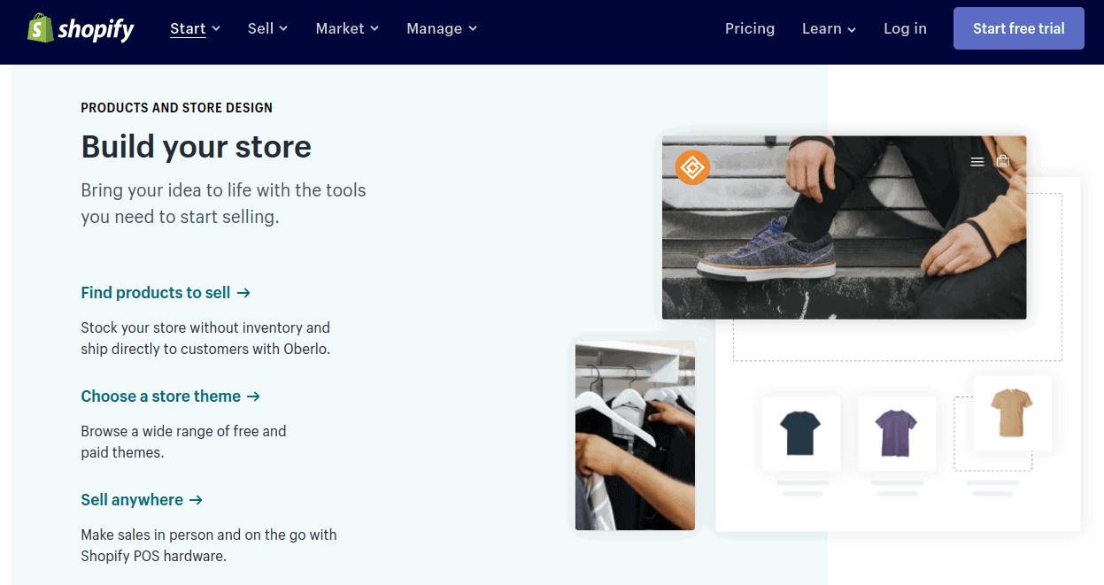 Build Shopify Store: formas de ganar dinero en línea