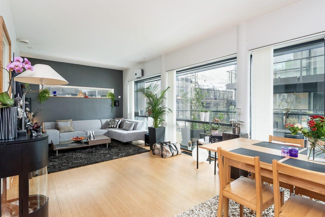 65m² con cocina comedor salón abiertos - Blog tienda decoración ...