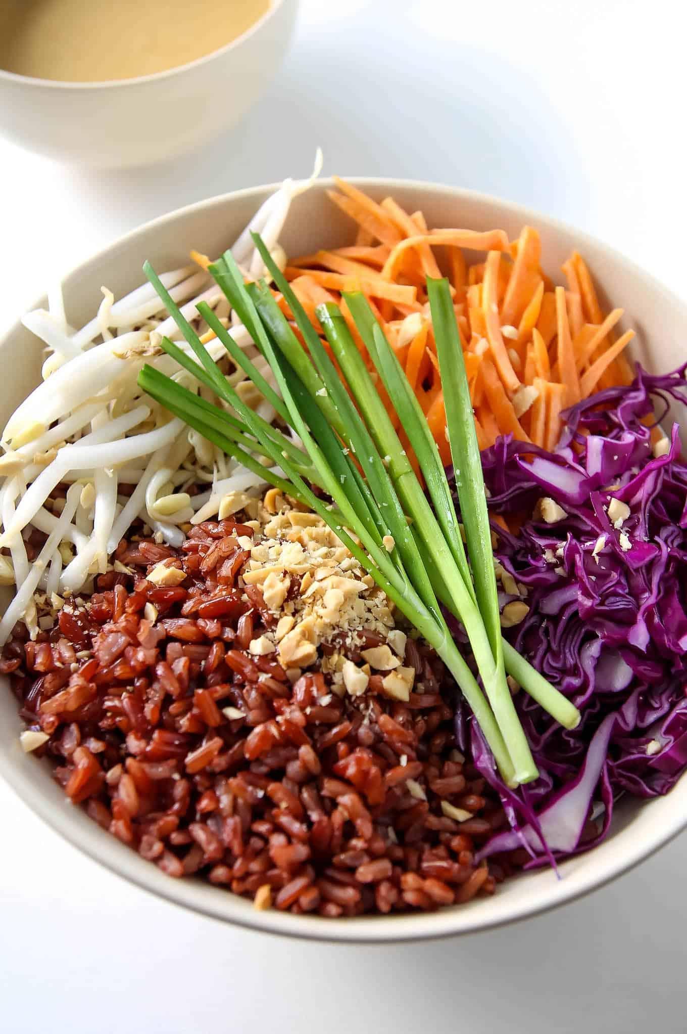 Colourful Thai Style Buddha Bowl