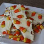 Candy Corn Pretzel Bark