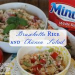 Bruschetta Rice and Chicken Salad