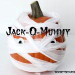 Jack-O-Mummy Pumpkin