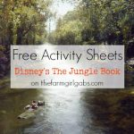 Download Disney's The Jungle Book Activity Sheets