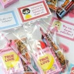 Disney Princess Valentine Treat Bags