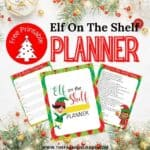 Elf On The Shelf Planner