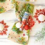 Lottery Ticket Christmas Napkin Holders