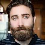 beard, face, man