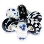 Trollbeads Black + White set