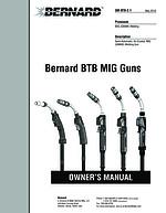 Thumbnail of Owner's Manual   OM-BTB Bernard BTB MIG Guns