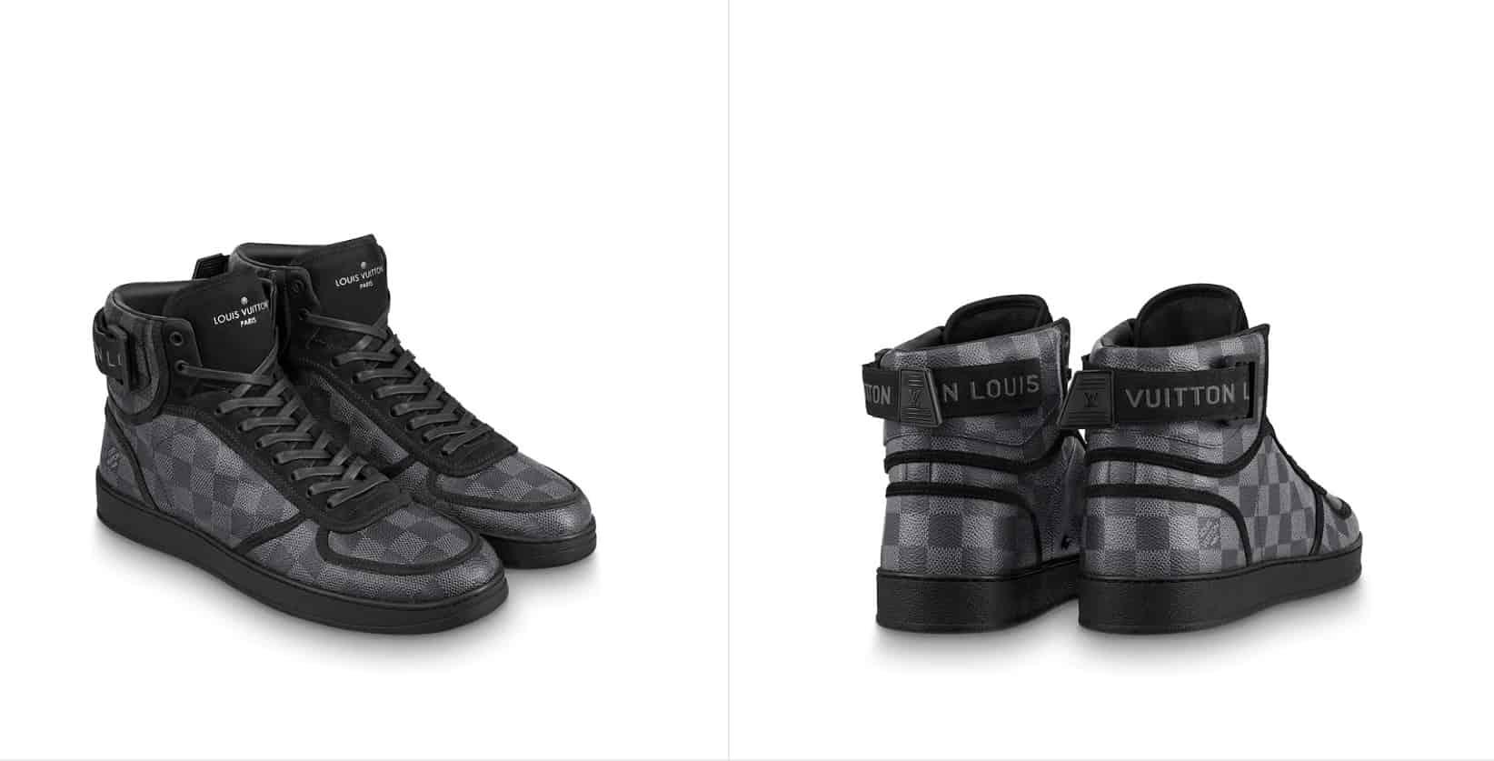Best Fashion Brand Replica Boots Cheap Branded Copy Sneakers Fake Shoes AliExpress China Wholesale LV Louis Vuitton Rivoli Sneaker Boot