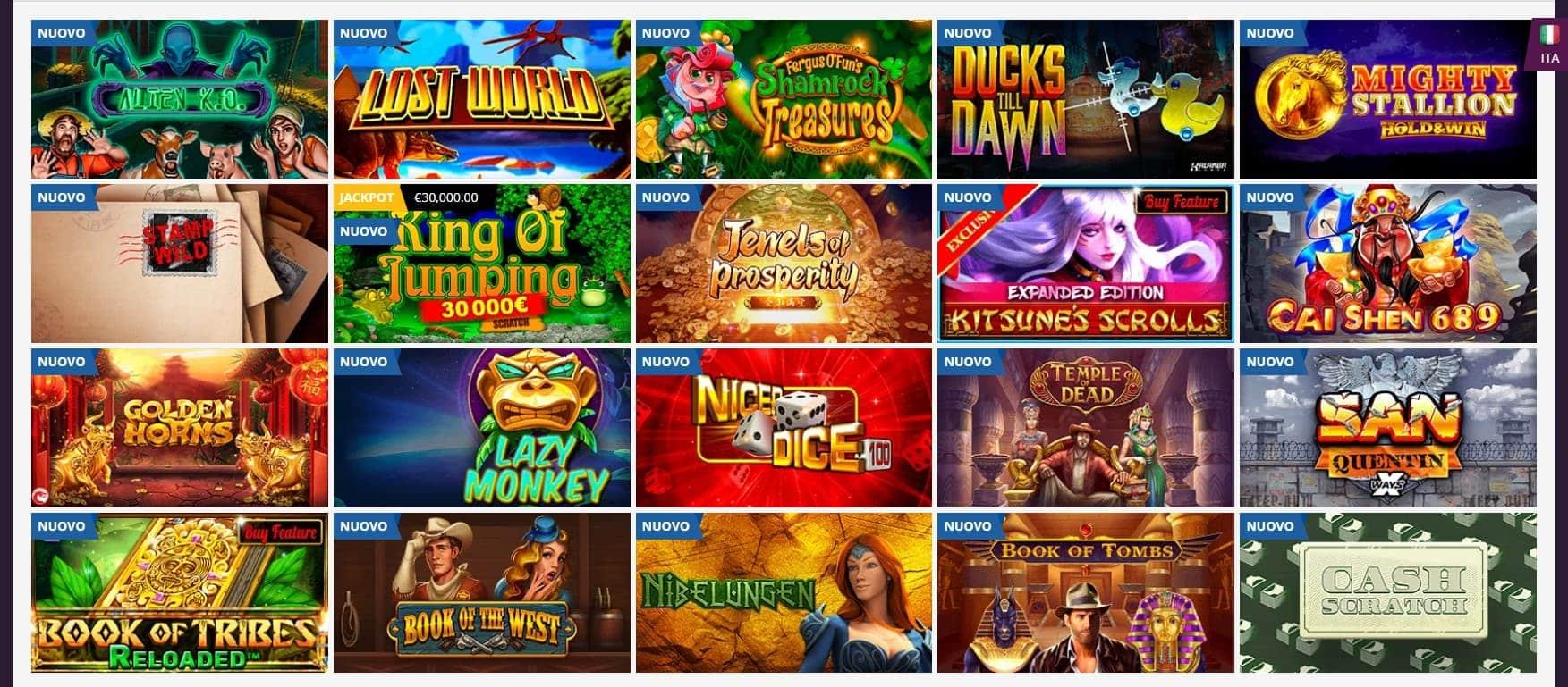 Giochi Playamo Casino