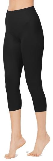 Tummy control leggings: Miraclesuit flexible fit shapewear leggings | 40plusstyle.com