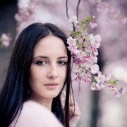 immer zur Kirschblüte im März/April ist der Hanseplatz in Erfurt eine coole Fotolocation