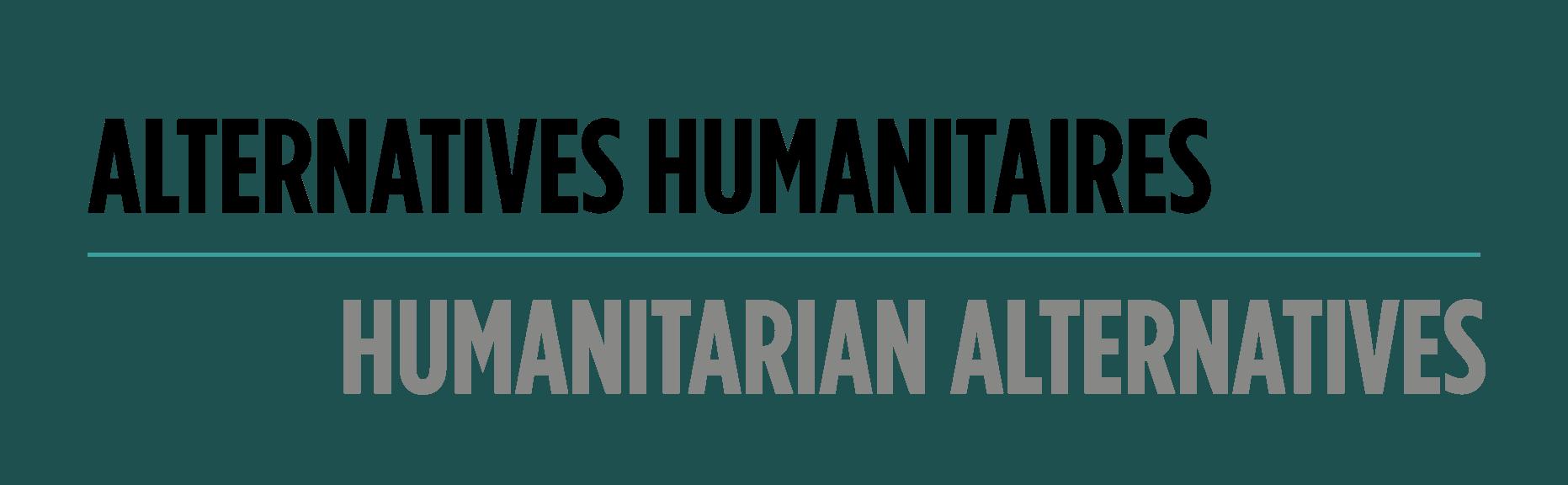 Humanitarian Alternatives