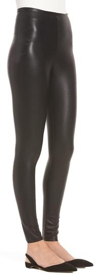 Commando perfect control faux leather leggings | 40plusstyle.com