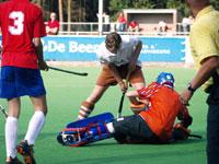 image: Hockey Tilburg JA1 thuis tegen Venlo JA1
