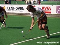 image: Tilburg wit oefenwedstrijd van Laren
