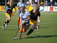 hockey meiden Were Di MA1 uit tegen den Bosch MA1